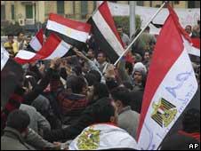 埃及示威活動發生暴力衝突