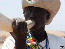 Sudanés del Sur celebra resultados del referendo