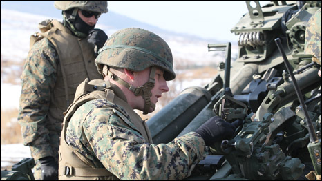 LínhMỹchuẩnbịtậptrận(ảnhcủaThủyquânlụcchiếnHoaKỳ)