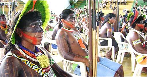 Tribu kayapo Foto Survival International