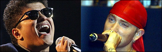 Bruno Mars y Eminem
