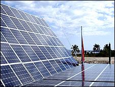 Paneles solares del buque Turanor Planet Solar Foto: cortesía Raphael Domjan