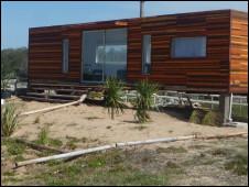Casa feita de container
