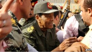 طنطاوی رئیس شورای نظامی مصر