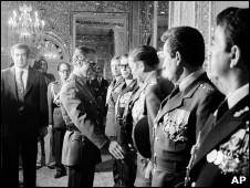 شاه ایران و سران ارتش