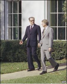 شاه ایران و جیمی کارتر