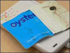Oyster card hackeada