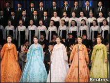 Hòa nhạc mừng sinh nhật Kim Jong-il ở Bình Nhưỡng