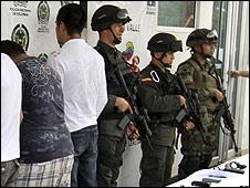 Arresto de irregulares en Colombia
