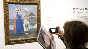 من لوحات بيكاسو