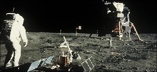 El Apolo 11 en la Luna