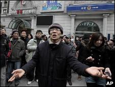 上海示威者