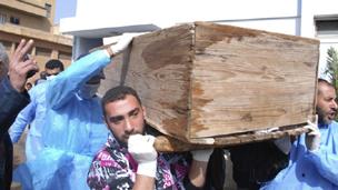 ضحايا العنف في ليبيا
