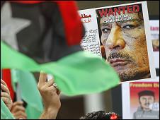 Biểu tình chống Gaddafi ở châu Á