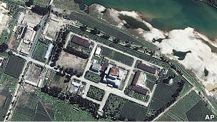 朝鲜宁边核设施(资料图片)