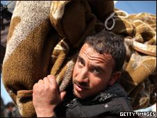 Refugiados libios en Túnez