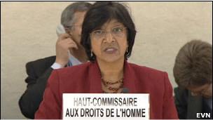 بيلاي: موقف مجلس الأمن شجع
