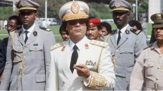 Gaddafi alipokuwa akizuru Senegal mwaka 1985