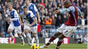 Aston Villa na Blackburn