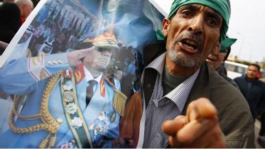 Mfuasi wa Gaddafi