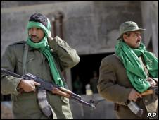 شبه نظامیان دولتی در لیبی