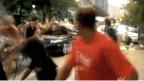 سائق يصدم بسيارته قافلة دراجات في البرازيل