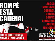 Poster contra la violencia de género