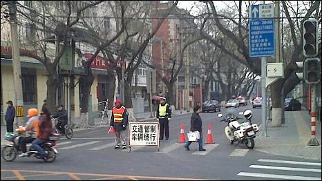 北京市面交通管制(5/3/2011)