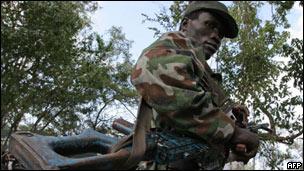 Mpiganaji wa LRA