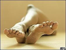 Uñas del pie