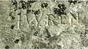 Надпись Wren