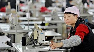 trabajadora textil china