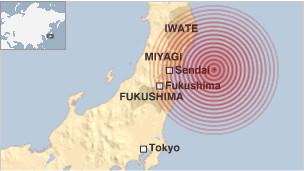 Gempa dashyat hantam Jepang Utara