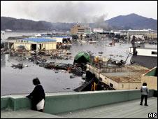 Efectos del sismo en Japón.