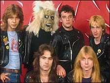 Iron Maiden com Paul Di'Anno