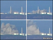 福岛第一核电站1号机组爆炸