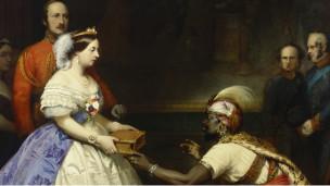 Ratu Victoria dalam sebuah lukisan