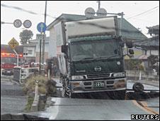 Fisura en Japón tras el terremoto