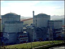 大亚湾核电站(资料图片)