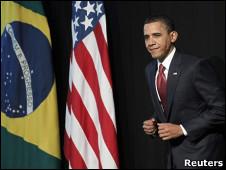 Obama en Brasil