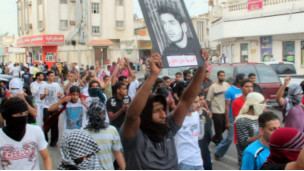 احتجاجات سعودية امام وزارة الداخلية في الرياض وانباء عن اعتقالات 110320102221_saudi_demos_304x171_bbc_nocredit