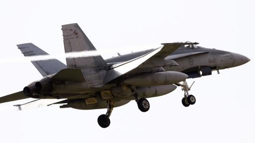 أنواع المقاتلات والصواريخ المستخدمة في الهجوم على ليبيا 110320122155_hornet_512x288_pa_nocredit