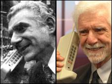 Primera llamada en teléfono celular móvil
