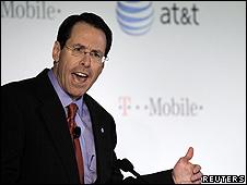 Randall Stephenson, director ejecutivo de AT&T