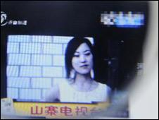 中国非法地下电视台(新华社图片)