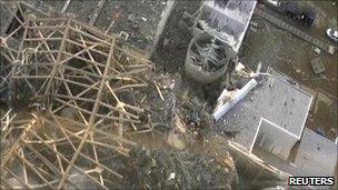 Реактор АЭС в Фукусиме