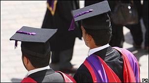 Estudiantes en Reino Unido