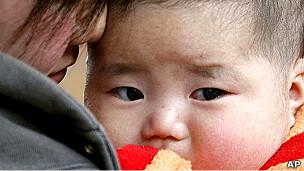 Niño en Japón