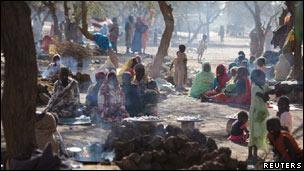 نازحون من دارفور