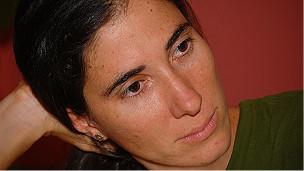 Yoani Sánchez. Foto Raquel Pérez